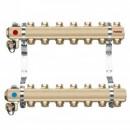 Foto Distribuitor - colector din alama cu 8 circuite pentru calorifere