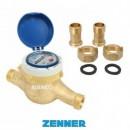 Foto Contor pentru apa rece, clasa C, cu mecanism uscat, Zenner MTKD-CC-M, DN25-1