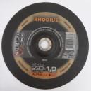 Foto Disc pentru debitat otel inox RHODIUS 230x1.9