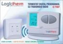 Foto Termostat de ambient programabil fara fir Logictherm C7 RF