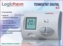 Foto Termostat de ambient Logictherm C3 cu fir