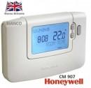 Foto Termostat de ambient programabil cu fir Honeywell CM907