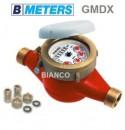 Foto Apometru pentru apa calda 3/4 DN 20 cu cadran uscat clasa B BMeters GMDM-I
