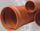 Foto Teava PVC cu mufa si garnitura 160x2000